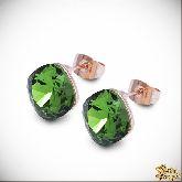 Серьги с кристаллами Сваровски IS0216GS