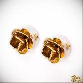 Серьги с кристаллами Сваровски IS0330