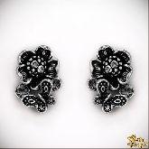 Серьги с кристаллами Сваровски IS0335R