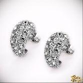 Серьги с кристаллами Сваровски IS0336R
