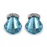 Серьги с кристаллами Сваровски IS0364B