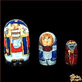 """Деревянная игрушка Матрёшка """"Щелкунчик"""""""
