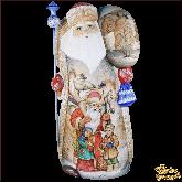 """Резная статуэтка из дерева """"Дед мороз большой"""""""