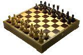 """Игровой набор - шахматы """"Неваляшки"""", шашки, карты, домино - 43х43 см (высота короля 3,00"""")"""