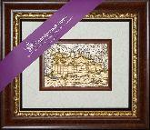 Китай (ЗОЛОЧЕНИЕ), рамка художественный багет, 365х315