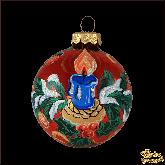Ёлочный шар ручной работы Свеча