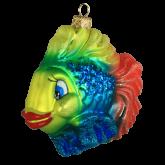 Ёлочная игрушка из Польши Тропическая рыба