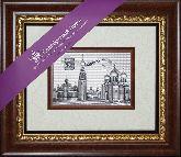 Вологда, рамка художественный багет, 365х315