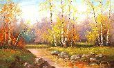 """Картина на холсте """"Золотая пора"""""""