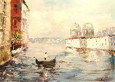 "Картина на холсте ""Венецианский гандольер"""
