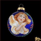 Ёлочный шар ручной работы Ангел