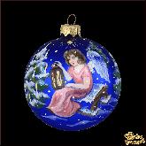 Ёлочный шар ручной работы Рождество