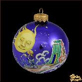 Ёлочный шар ручной работы Сон