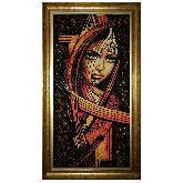 Абстракция из янтаря Роковая женщина