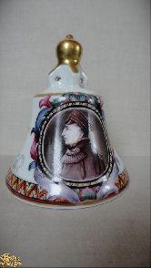 Фарфоровый колокольчик Адмирал Нахимов