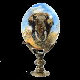 Пасхальное яйцо страусиное Африка