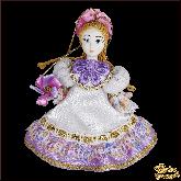 Авторская ёлочная игрушка ручной работы Принцесса