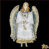 Авторская ёлочная игрушка ручной работы Ангел
