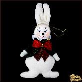 Авторская ёлочная игрушка ручной работы Кролик в жилетке