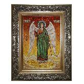 Ангел Хранитель икона с янтаря - защита от несчастий