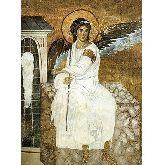 Купить икону Ангел на гробе Господнем арт АГ-02 18х13