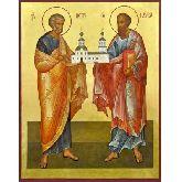 Купить икону Ап. Петр и Павел АПП-02-6 12х10