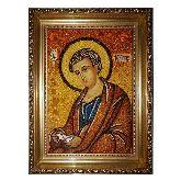 Апостол Филипп икона из янтаря