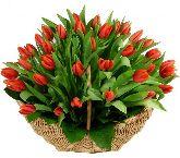 """Корзина с цветами """"Аромат Весны"""""""