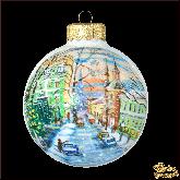Ёлочный шар ручной работы Москва