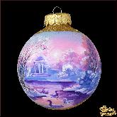 Ёлочный шар ручной работы Романтика