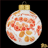 Ёлочный шар ручной работы Зимушка-зима