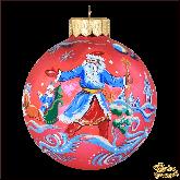 Ёлочный шар ручной работы Новый год