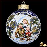 Ёлочный шар ручной работы Коляда
