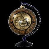 Ёлочный шар ручной работы на подставке Покровский Собор