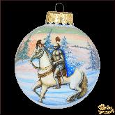 Ёлочный шар ручной работы Рыцарь