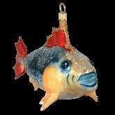 Ёлочная игрушка из Польши Рыба