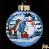 Ёлочный шар ручной работы Подарок