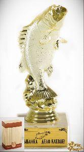 Кубок подарочный Рыба.Рыбалка дело клевое!