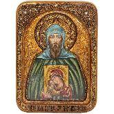 Благоверный великий князь Игорь, Живописная икона, 21 Х29