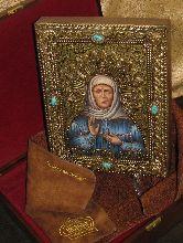 Икона, Блаженная старица Матрона Московская