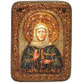 Блаженная старица Матрона Московская, Подарочная икона, 15 Х20