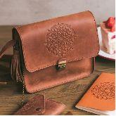 Женская сумка Коньяк