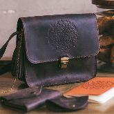 Женская сумка Орех