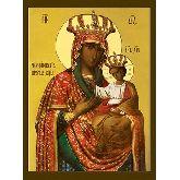 Купить икону Богородица Черниговско-Гефсиманская арт БГ-01 12х9