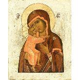Цена иконы Богородица Феодоровская арт БФ-01 12х9,5