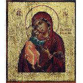 Купить икону Богородица Феодоровская арт БФ-03 12х10