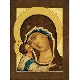 Купить икону Богородица Игоревская арт БИ-10 12х9