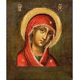 Цена иконы Богородица из Деисусного чина арт Б-22 12х10