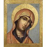Стоимость иконы Богородица из Деисусного чина арт Б-27 12х10