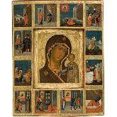 Купить икону Богородица Казанская арт БК-07к 55,5х44